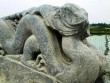 Kỳ bí đôi rồng đá mất đầu ở Thành Nhà Hồ