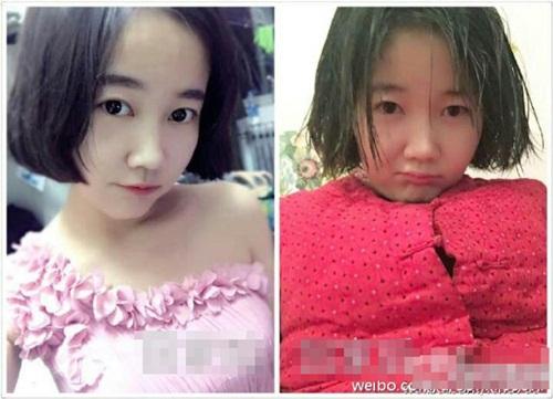 Sốc với hình ảnh trước và sau Tết của các thiếu nữ - 3