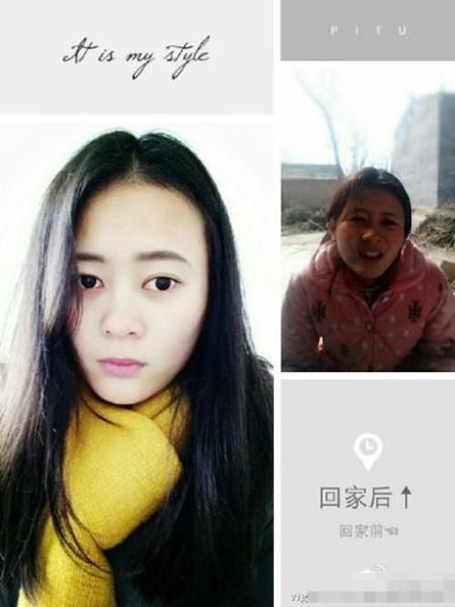 Sốc với hình ảnh trước và sau Tết của các thiếu nữ - 4