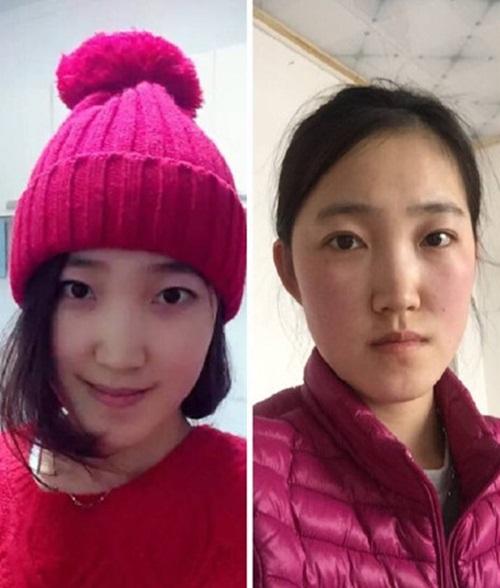 Sốc với hình ảnh trước và sau Tết của các thiếu nữ - 6