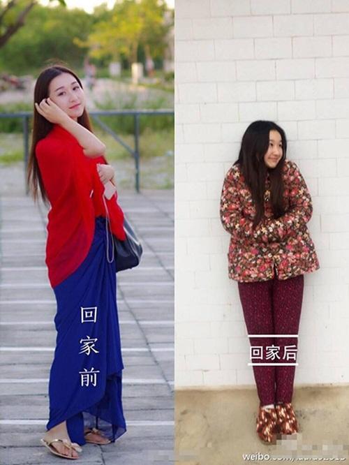 Sốc với hình ảnh trước và sau Tết của các thiếu nữ - 8