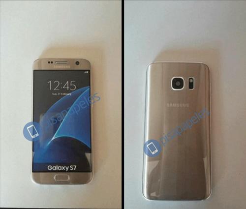 HOT: Ảnh thực tế Galaxy S7 màu vàng xuất hiện - 1