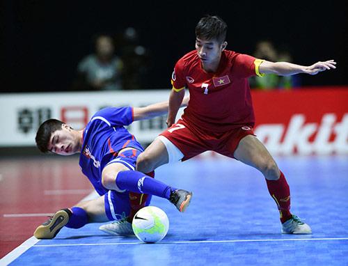 ĐT futsal Việt Nam thắng kịch tính Đài Loan (Trung Quốc) - 1