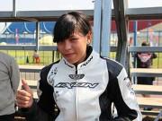 Thể thao - Tay đua nữ nhập viện vì va chạm trong buổi chạy thử