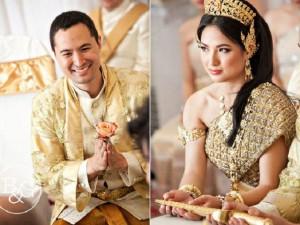 Lóa mắt vì những đám cưới 'phủ vàng'