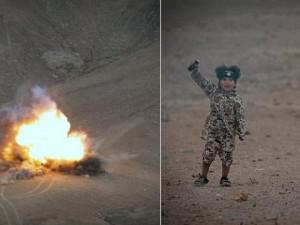 IS tung video chiến binh 4 tuổi cho nổ tung 4 tù binh