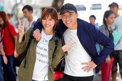 Trấn Thành 'đứng hình' vì đồng nghiệp nhắc Hari Won - 1