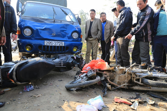 Mùng 4 Tết: 39 người chết, 48 người bị thương vì TNGT - 1