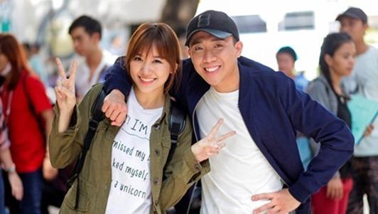 Trấn Thành 'đứng hình' vì đồng nghiệp nhắc Hari Won