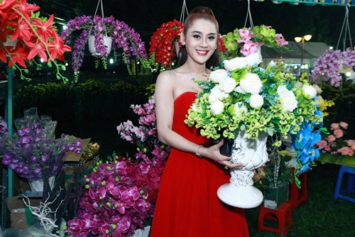 'Công chúa' Lâm Chi Khanh yêu kiều đón xuân - 6