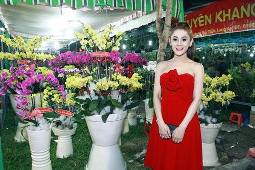 'Công chúa' Lâm Chi Khanh yêu kiều đón xuân - 11