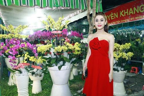 'Công chúa' Lâm Chi Khanh yêu kiều đón xuân - 12