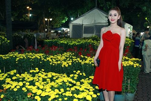 'Công chúa' Lâm Chi Khanh yêu kiều đón xuân - 3