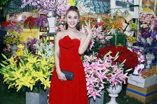 'Công chúa' Lâm Chi Khanh yêu kiều đón xuân - 4