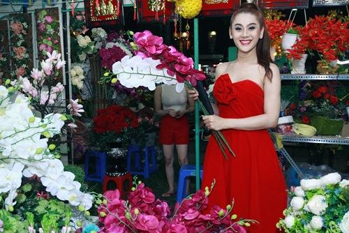 'Công chúa' Lâm Chi Khanh yêu kiều đón xuân - 5