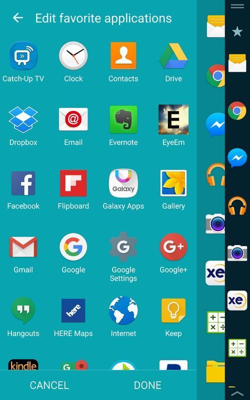 So sánh thú vị về màn hình phụ giữa Galaxy Note Edge với LG V10 - 4