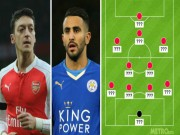 """Arsenal, Leicester thống trị """"Dream team"""" của Henry"""
