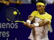 Thể thao - Nadal - Lorenzi: Hai set đối lập (Tứ kết Buenos Aires)