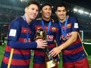 """Bóng đá - Luis Suarez: """"Ban đầu tôi sợ Messi & Neymar"""""""
