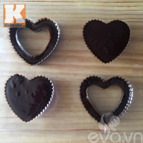 Tự làm kẹo socola trái tim tặng người ấy dịp Valentine - 5