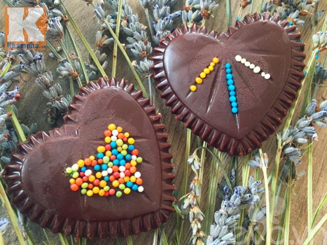 Tự làm kẹo socola trái tim tặng người ấy dịp Valentine - 8