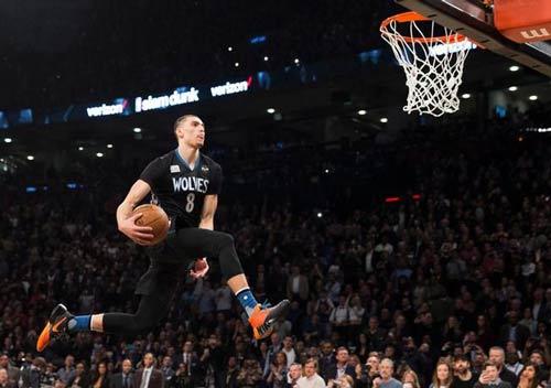 Kinh điển cuộc thi úp rổ NBA 2016 - 1