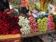Thị trường - Tiêu dùng - Khan hiếm, hoa hồng Valentine tăng giá mạnh
