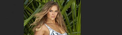 Ronda Rousey quyến rũ trên bìa tạp chí nội y - 2