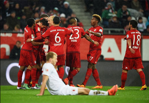 """Augsburg - Bayern: """"Song sát"""" đáng sợ - 1"""