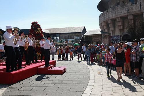 Đà Nẵng: Các Khu vui chơi tăng khách đột biến dịp Tết Nguyên đán - 2