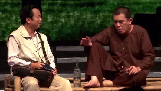 """Hài Nhật Cường: Câu chuyện """"Cụ trường thọ"""""""