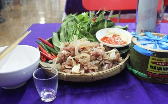 Tuyệt ngon nem lợn mán Bến En xứ Thanh - 1