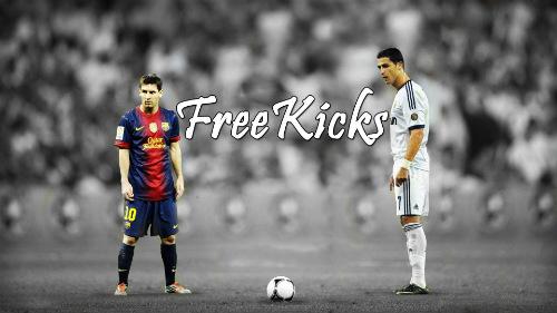 Sút phạt trực tiếp: Messi hay nhưng vẫn thua CR7 - 1