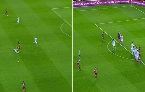 Sút phạt trực tiếp: Messi hay nhưng vẫn thua CR7 - 2