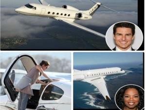 Đời sống Showbiz - Sao Hollywood không tiếc 'núi tiền' mua phi cơ riêng