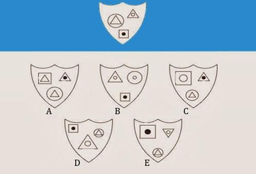 Bài toán tìm hình phù hợp với quy luật - 1