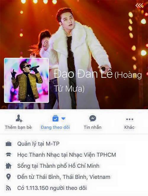 Sơn Tùng - MTP 'méo mặt' vì bị hack Facebook 'sến súa' - 1