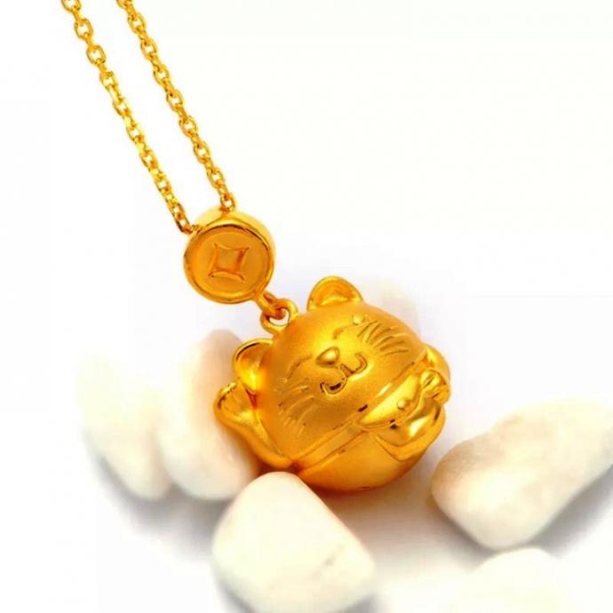Độc đáo linh vật bằng vàng trong ngày Vía Thần Tài - 4