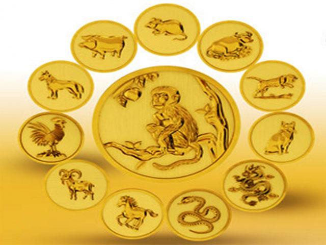 Độc đáo linh vật bằng vàng trong ngày Vía Thần Tài - 1