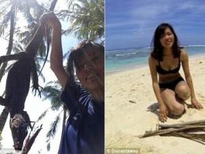 Phi thường - kỳ quặc - Nữ sinh Nhật một mình sống trên đảo hoang ở Indonesia