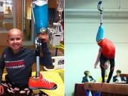 Thể thao - Yêu thể thao, bé gái 1 chân vượt qua số phận