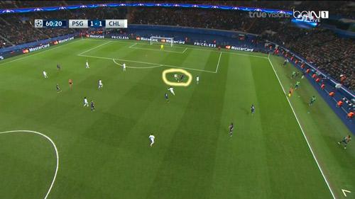 """Góc chiến thuật PSG - Chelsea: """"Đánh hội đồng"""" Ivanovic - 6"""