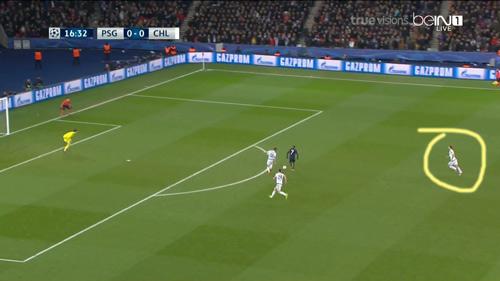 """Góc chiến thuật PSG - Chelsea: """"Đánh hội đồng"""" Ivanovic - 5"""