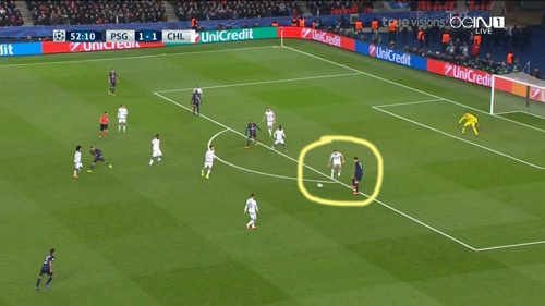 """Góc chiến thuật PSG - Chelsea: """"Đánh hội đồng"""" Ivanovic - 8"""