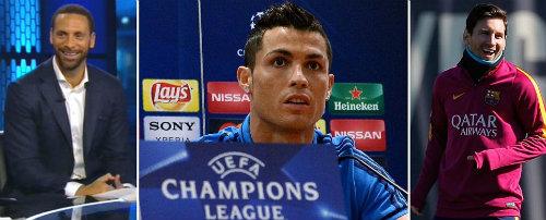 Bị hỏi khó về Messi, Ronaldo nổi giận bỏ họp báo - 1