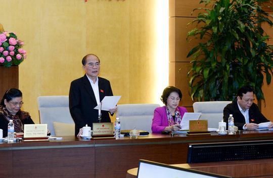Chủ tịch QH: Xin lùi Luật Biểu tình là thiếu nghiêm túc - 1
