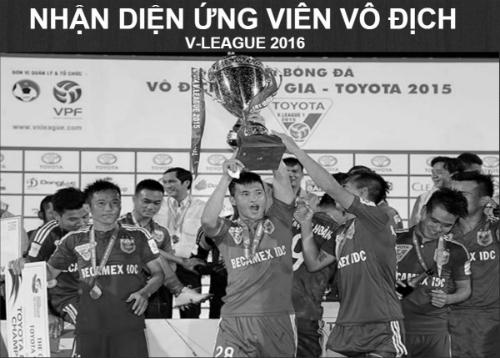 (Infographic) V-League 2016: B.Bình Dương tự tin giữ ngai - 1