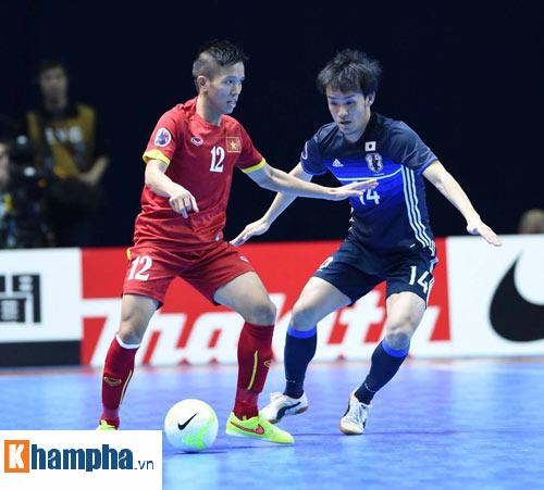 Video Futsal Việt Nam - Nhật Bản - 1