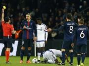 Bóng đá - Đạp đối thủ thô bạo, Ibra may mắn không bị đuổi