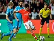 Video bàn thắng - Benfica - Zenit: Vỡ òa đoạn kết